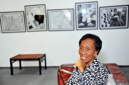 Article : A Abidjan, Simone Guirandou, figure de proue de la promotion des arts contemporains